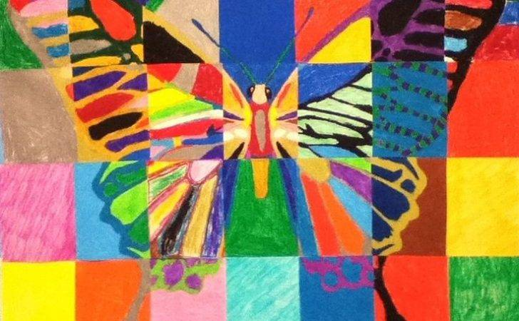 Ideas Butterflies Pinterest Project Cool Art