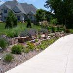 Ideas Cool Doit Yourself Landscaping End Driveway