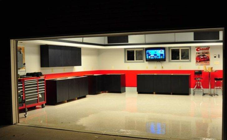Ideas Dream Garage Man Cave Workshop
