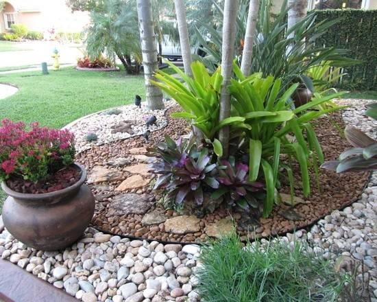 Ideas Frontyard Rocks Gardens Landscape Design Rivers