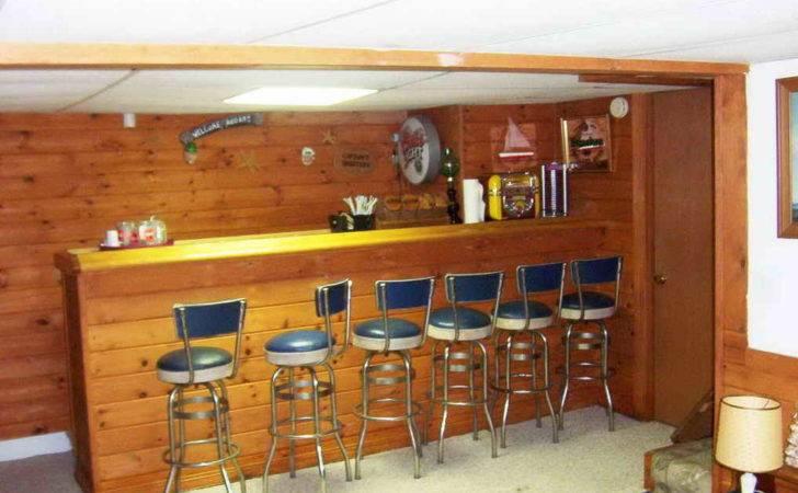 Ideas Furniture Basement Bar Vintage
