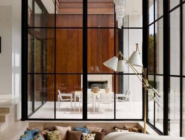 Ideas Glass Modern House Exterior Interior Design