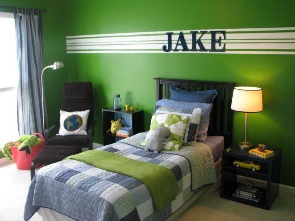 Ideas Green Boys Bedrooms Pinterest Room