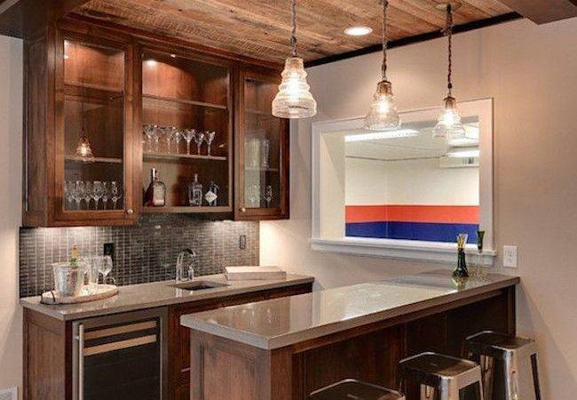 Ideas Home Bar Designs Pinterest Bars