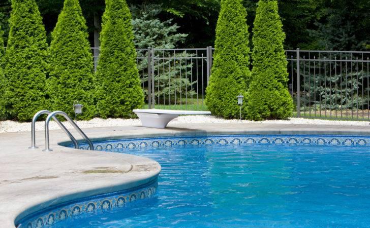 Ideas Inground Swimming Pool Patio
