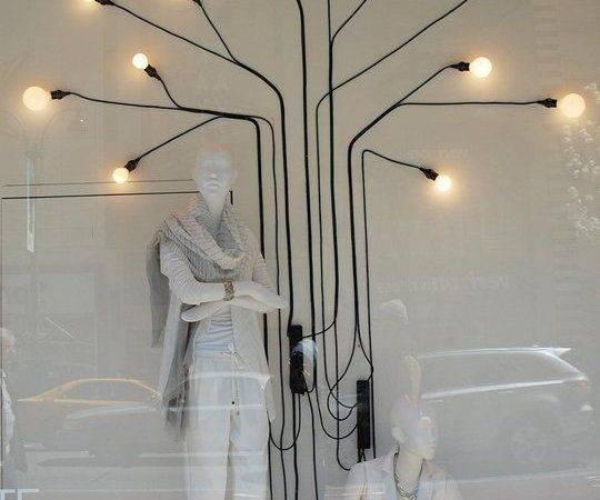 Ideas Inspired Crazy Store Window Displays Shop Lighting