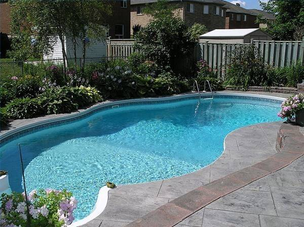 Ideas Landscaping Backyard Pool