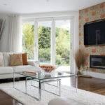 Ideas Living Room Modern Feature Wall
