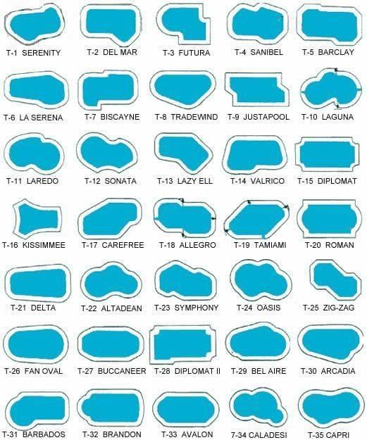 Ideas Pool Shapes Pinterest Swimming Pools Designs