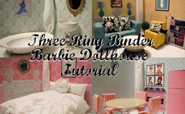 Ideas Sara Dollhouse Crafts Diy Craft Ring Binders