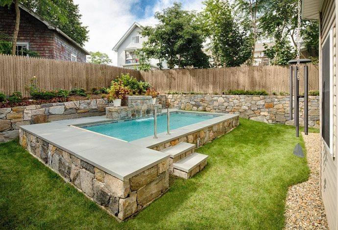 Ideas Small Pools Backyards Swimming