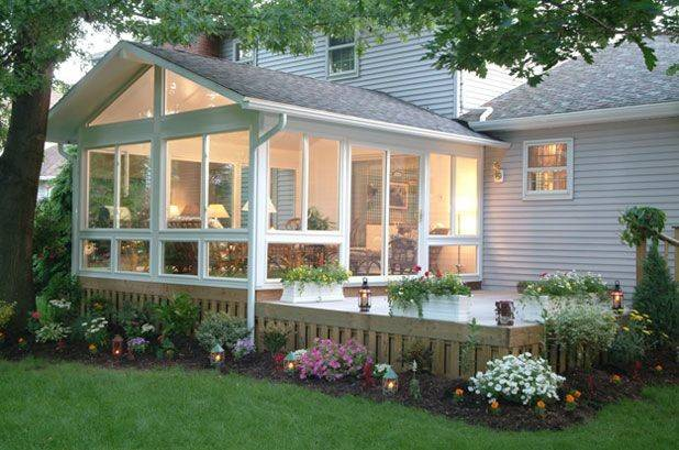 Ideas Small Sunroom Additions Decks Season Rooms Lancaster