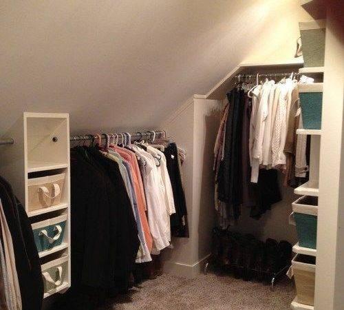 Ideas Sobre Slanted Ceiling Closet Pinterest Techo