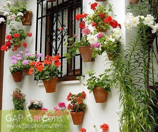 Ideas Spanish Patio Pinterest Garden Style