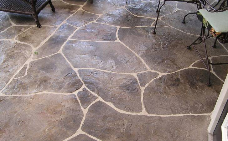 Ideas Stamped Concrete Cost Pinterest
