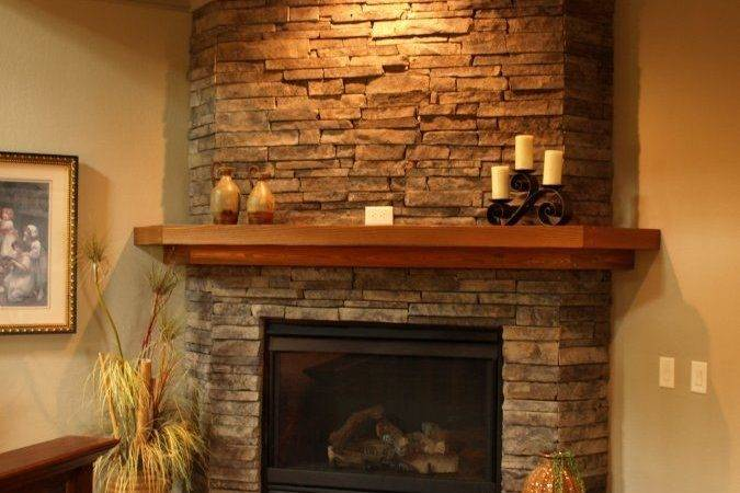 Ideas Stone Fireplace Makeover Pinterest Fireplaces