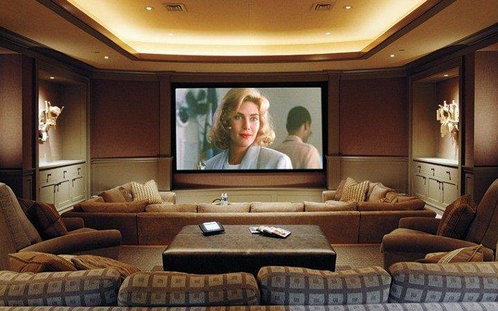 Ideas Turn Basement Entertainment Room Home Designs