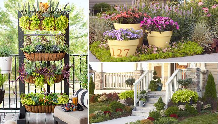 Ideas Vertical Planter Container Gardens Landscape Design