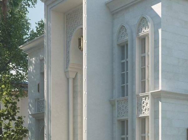 Ideas Villas Arab Villa Elevation Arabic Architecture Classic