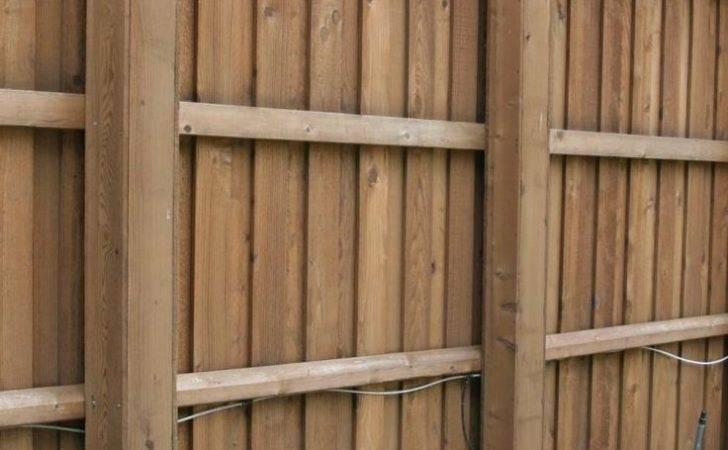 Ideas Wood Fences Pinterest Backyard Fence