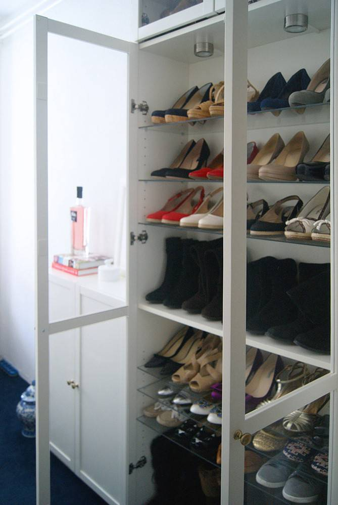 Ikea Billy Shoe Closet Lots Shoes Tatiana Delights