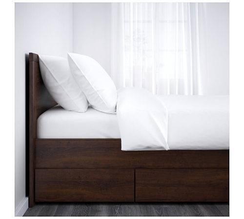 Ikea Brusali Bed Frame Storage Boxes