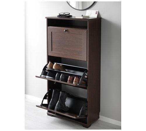Ikea Brusali Shoe Cabinet Compartments