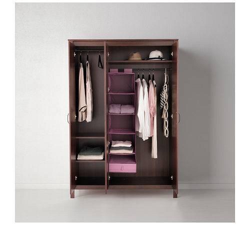 Ikea Brusali Wardrobe Doors Adjustable Hinges Ensure