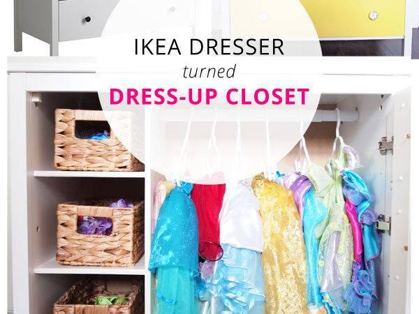 Ikea Dresser Turned Dress Closet Cape Blog