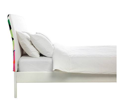 Ikea Duken Bed Frame Easy Keep Clean Since Can Remove Cover