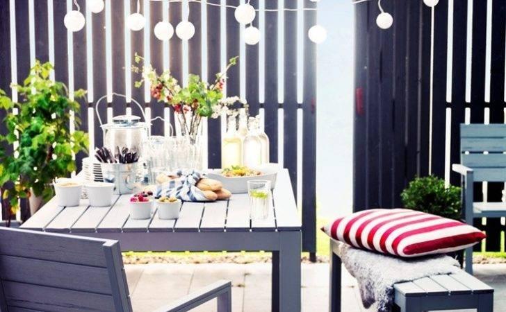 Ikea Falster Garten Terrasse Pinterest Gardens Table