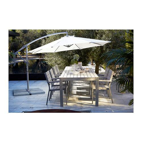 Ikea Falster Table Outdoor Polystyrene Slats Weather