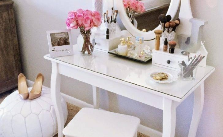 Ikea Hemnes Dressing Table Decor Ideas Makyaj Masas Dekorasyon