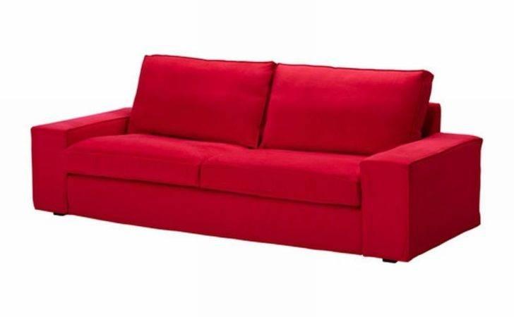 Ikea Kivik Sofa Slipcover Cover Ingebo Bright Red Bezug Housse