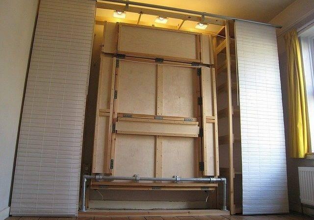Ikea Panels Hide Hideaway Bed Hidden Ideas Pinterest
