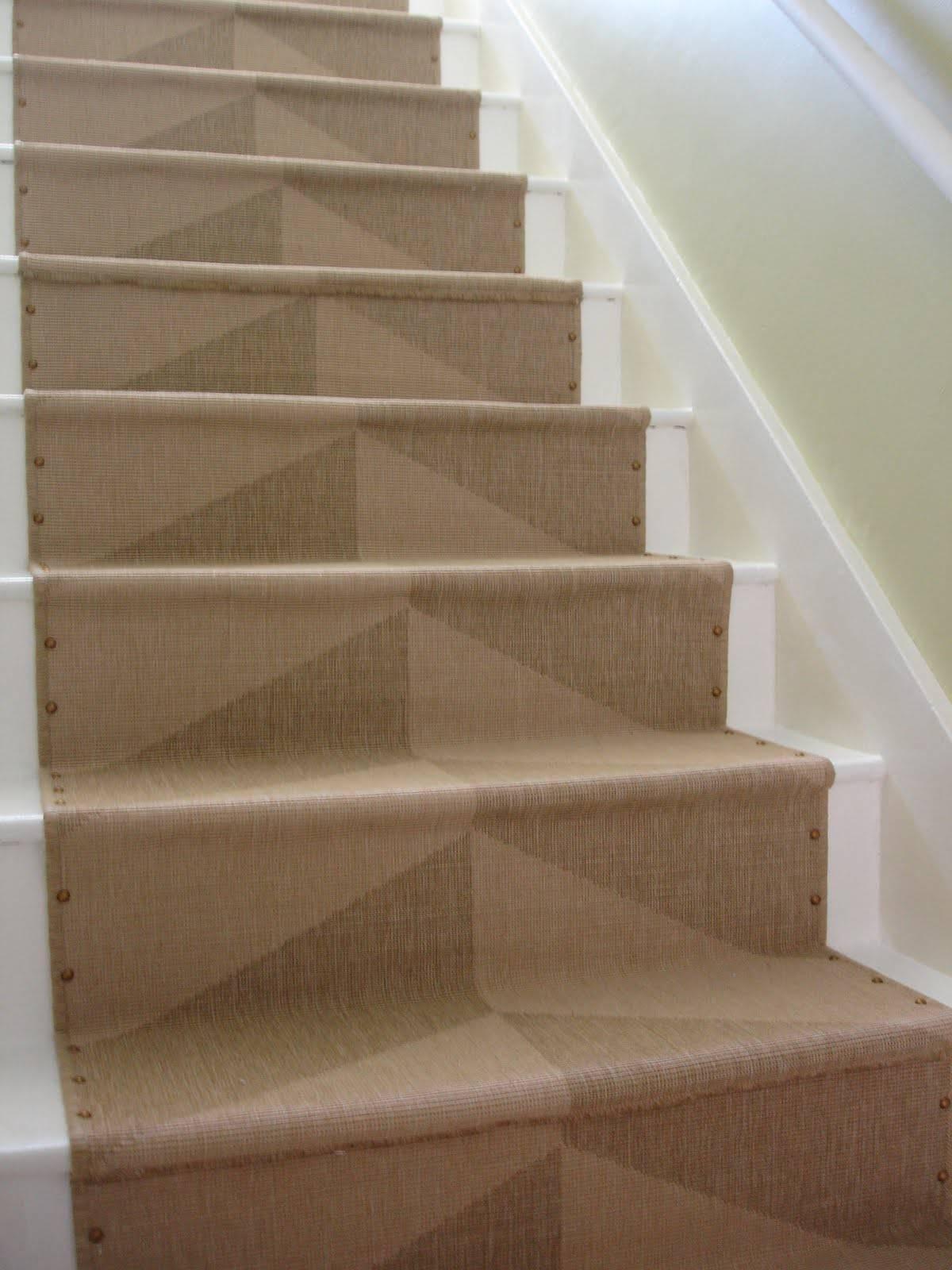 Ikea Rug Brass Nailhead Totally Diy Stair Runner Installing