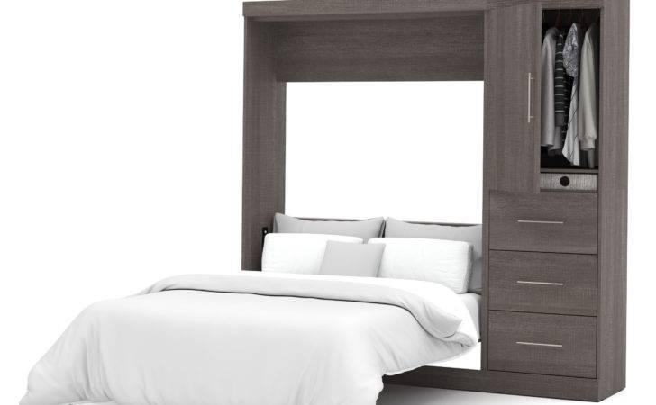 Ikea Wall Beds Folding Gray Bed Along