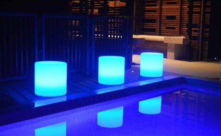 Illuminated Tables Led Round Stool Seat