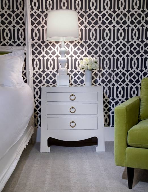 Imperial Trellis Contemporary Bedroom Design Group