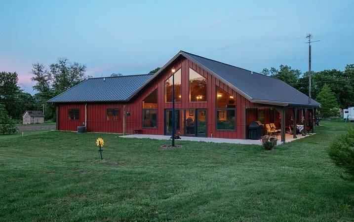 Impressive Metal Building Home Homes