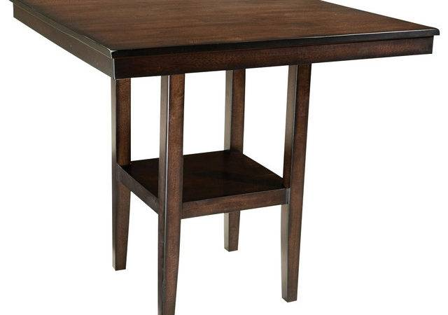 Inch Counter Height Table Dark Cherry Traditional Dining Tables