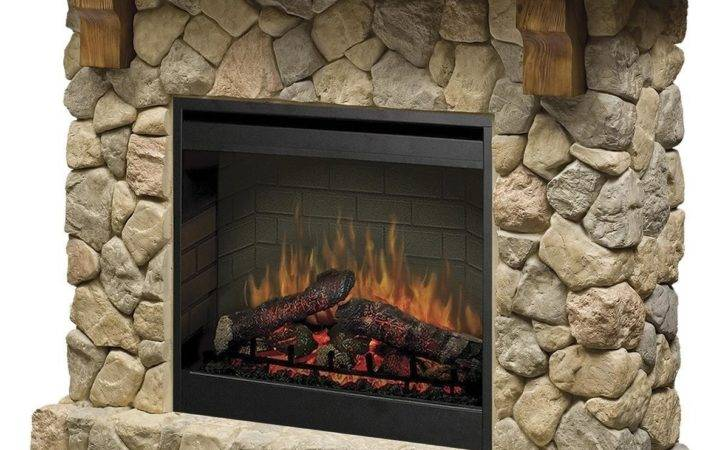 Inch Electric Fireplace Stone Smp Country