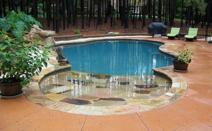 Incorporate Beach Into Your Pool Design Can Quite Fun