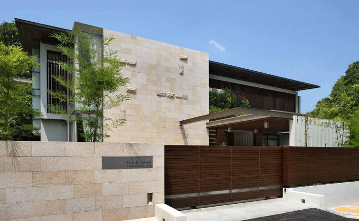Incredible Contemporary Home Design Greeneries Act Buffer