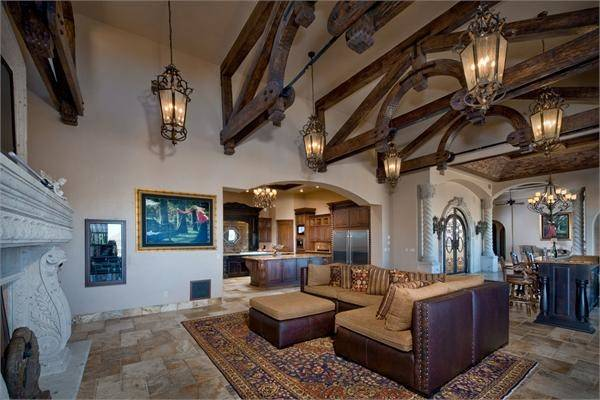 Incredible Italian Tuscan Style Estate New Mexico Luxury Homes
