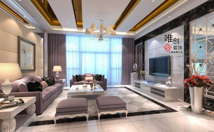Incredible Modern Ceilings Drawing Rooms Fan