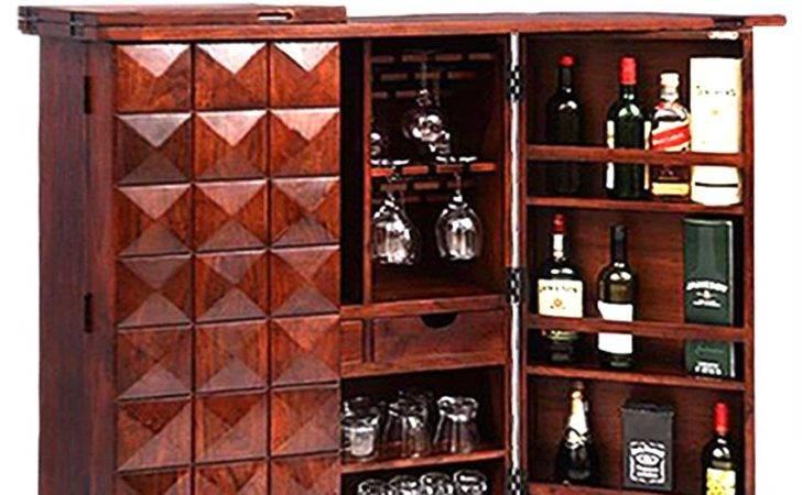 India Art Solid Wood Bar Cabinet Buy Ethnic