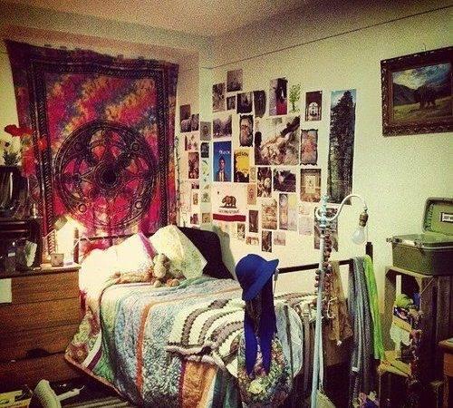 Indie Bedrooms Ideas Original Pinterest Hipster
