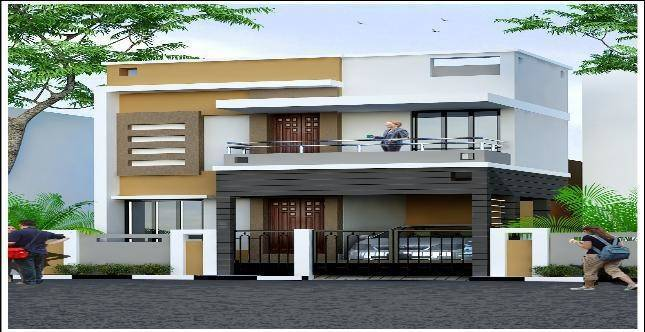 Individual House Elevation Design Joy Studio Best