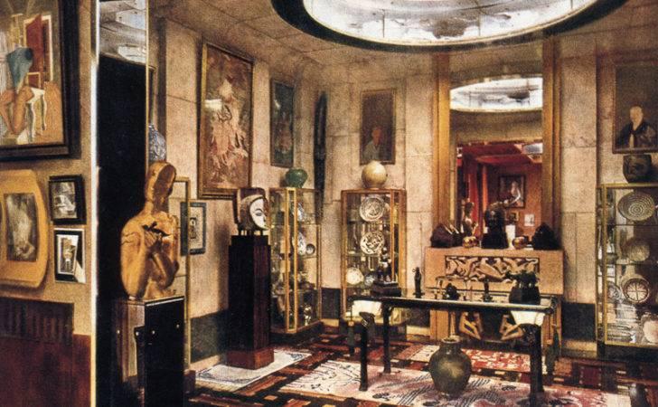 Indoor Architecture Art Deco Interior Design Style